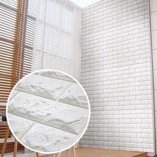 쿠셔니폼블럭 인테리어 셀프벽지 롤 5m 파벽돌, 33800원, GSSHOP
