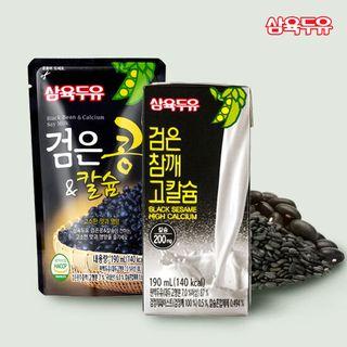 [삼육두유]검은참깨 고칼슘 64팩+검은콩&칼슘 40팩(총104팩), 45900원, GSSHOP