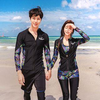 루시퍼 커플래쉬가드 남자수영복 여성래쉬가드 여자레쉬가드세트, 35900원, GSSHOP
