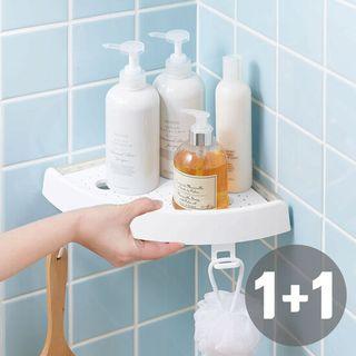 1+1(총2개)특허받은 오션 버티고 선반 원터치 국내제조 욕실선반, 34900원, GSSHOP