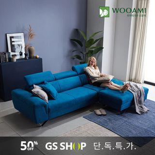 [GS단독상품]우아미가구 하바나 아쿠아텍스 4인 소파+스툴, 459170원, GSSHOP