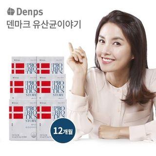 덴프스 LGG 유산균 덴마크 유산균 이야기 6박스 12개월분, 178200원, GSSHOP