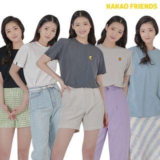 [런칭가 59,000원]카카오프렌즈 티셔츠 5종(남여공용), 49000원, GSSHOP