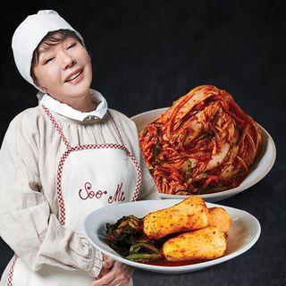 김수미 의 엄마생각 김치 포기김치7kg+총각김치2kg, 49900원, GSSHOP