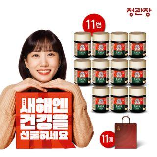 [추석특집]정관장 홍삼진고 11병(10+1) 100g 면역력 환절기 쇼핑백11매, 168200원, GSSHOP