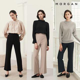 [21FW] MORGAN 스트레치 텐션 팬츠 3종, 79900원, GSSHOP
