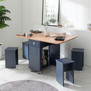 [셀레스타]라이프 LPM 접이식 확장 식탁테이블, 131970원, 홈&쇼핑