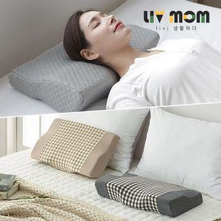 [리브맘]3D 메모리폼 누빔 경추베개 2개세트, 23860원, 홈&쇼핑