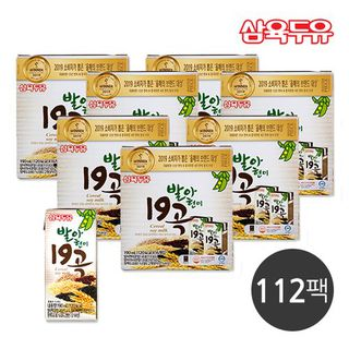 [삼육두유] 발아현미19곡 4박스+3박스 (112팩), 43110원, 홈&쇼핑