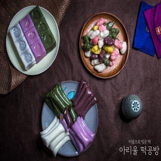 [아리울떡공방] 앙금절편+앙금가래떡+모듬깨송편 세트, 34110원, 홈&쇼핑