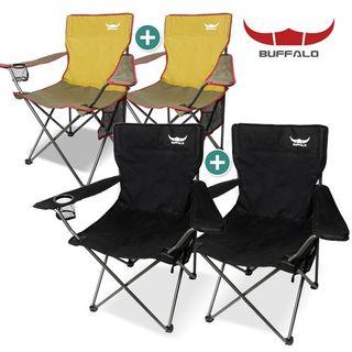버팔로 캠핑의자 뉴 캠핑체어세트(2P)/낚시의자, 38990원, 홈&쇼핑