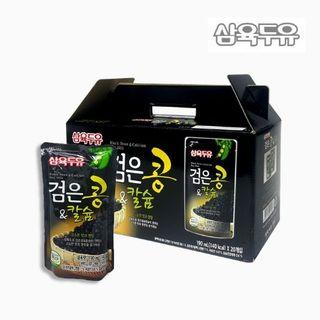 [삼육두유] 검은콩&칼슘두유 파우치 190ml x 60팩, 23790원, 홈&쇼핑