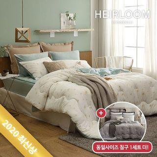 (슈퍼싱글1+1세트)극세사침구/20FW 에어룸 더블꿀잠 고밀도 극세사 침구풀세트, 79200원, 홈&쇼핑