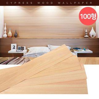 편백나무벽지 시트지 100형 48장 포인트벽지/접착식나무벽, 77100원, 홈&쇼핑