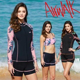 [에어워크]서프 여성래쉬가드세트3피스 YAWe0260/레쉬가드/래시가드/비키니/수영복/여성비치웨어, 60080원, 홈&쇼핑