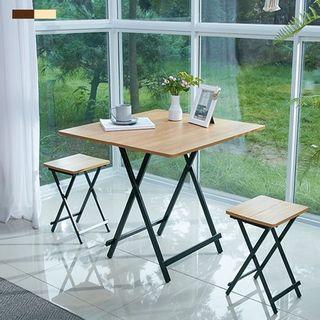 [까사마루] 접이식 테이블 세트 (테이블 1개 + 의자 2개), 71100원, 홈&쇼핑