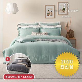 (퀸1+1)20FW 에어룸 코튼호텔 순면 60수 피그먼트워싱 침구세트 2세트, 89910원, 홈&쇼핑