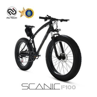 AU테크 스카닉 F100 36V 5Ah 전기 팻바이크 자전거, 789000원, 홈&쇼핑