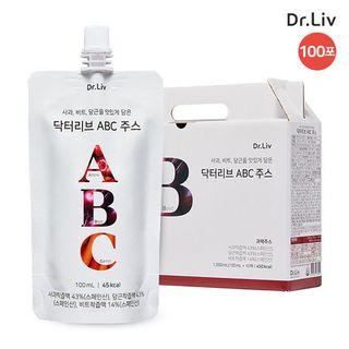 [T] 닥터리브 ABC 주스 100ml x 10팩 x 10박스, 총 100포, 158000원, 롯데홈쇼핑