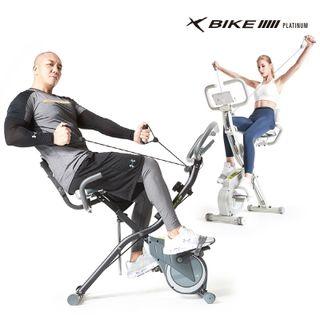 이화에스엠피 2021년 최신형 6세대 숀리 엑스바이크 플레티넘 실내자전거 더블코어밴드장착, 188100원, 롯데홈쇼핑