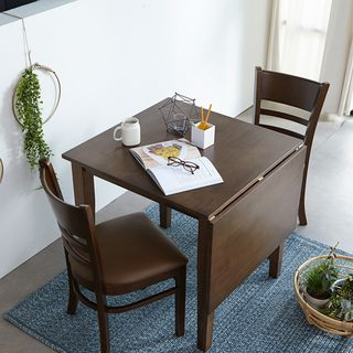 아씨방 [아씨방]캐빈 접이식 2인 식탁세트(식탁의자), 242930원, 롯데홈쇼핑
