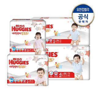 하기스 하기스 2020 매직팬티 컴포트 기저귀 3~6단계 남/녀 택1, 48270원, 롯데홈쇼핑