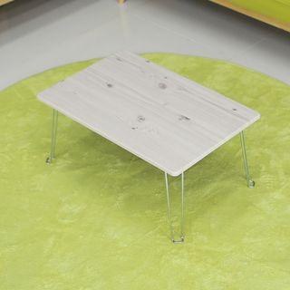 바보사랑 [바보사랑]레인보우 황토 접이식 테이블 미니 화이트워시, 10950원, 롯데홈쇼핑