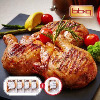 비비큐 BBQ 자메이카 통다리 바베큐 170g x 4+1팩, 14050원, 롯데홈쇼핑