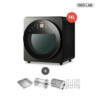 더블히팅 대용량  에어프라이어 14L 블랙 ( 총 10종 툴) DAP-I14DHB, 245550원, 롯데홈쇼핑