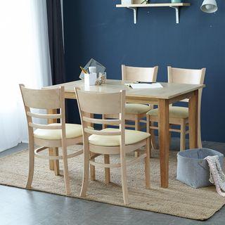 아씨방 [아씨방]캐빈 접이식 4인 식탁세트(식탁의자), 294920원, 롯데홈쇼핑