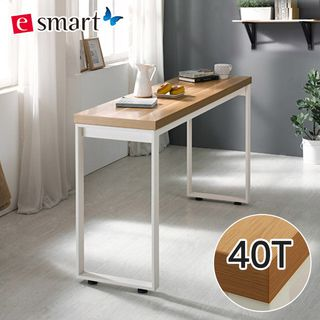 E스마트 [E스마트]이스마트 스틸헤비 테이블 1200x400 (사각다리) / 상판두께40T, 133000원, 롯데홈쇼핑
