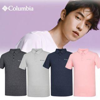 컬럼비아 S/S 남성 기본 카라 폴로 반팔 티셔츠 CZ2-AE0641, 31590원, 롯데홈쇼핑