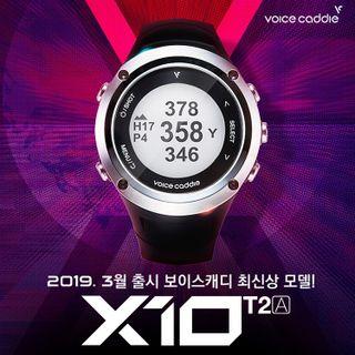 미즈노 [미즈노]보이스캐디 한정판 GPS 시계형 X10 T2A 거리측정기 골프용품 필드용품 거리측정용품, 208290원, 롯데홈쇼핑