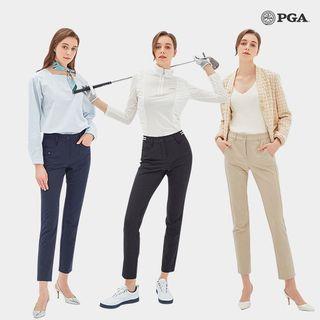 PGA 여성 더블페이스 라운딩 팬츠 3종, 59000원, 롯데홈쇼핑