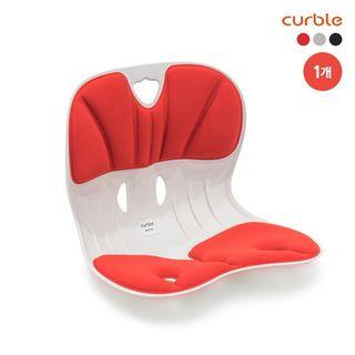 [1개] 2020년형 특허받은 바른자세 의자 커블체어 와이더 (블랙/레드), 53900원, 롯데홈쇼핑