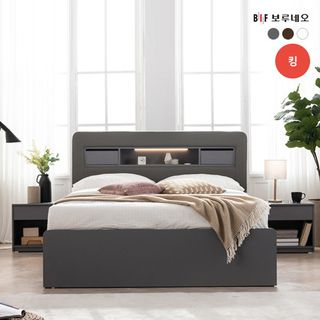 [보루네오][K] 보루네오 NEW 필로우탑 LED 수납형 침대, 719050원, 롯데홈쇼핑