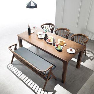 폴앤코코 [착불] 폴앤코코 타임 원목 6인 식탁테이블(단품), 297790원, 롯데홈쇼핑