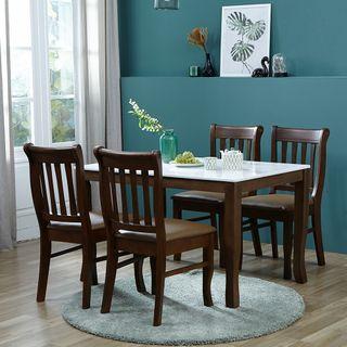 아씨방 [아씨방]데니 대리석 4인 식탁세트(식탁의자), 404160원, 롯데홈쇼핑