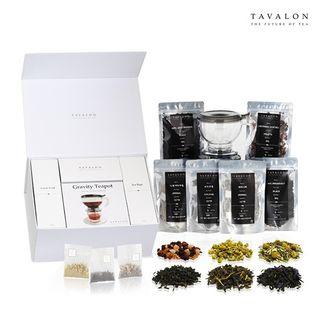 최유라쇼 전용 [타바론]티 컬렉션 (잎차 3종 + 티백 3종 + 티팟), 108000원, 롯데홈쇼핑