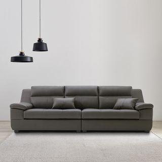 동서가구 제라 천연가죽 4인 소파스툴미포함 DF907376, 475830원, CJ오쇼핑
