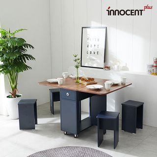 이노센트 리브 디온 접이식 식탁세트/스툴2, 344000원, CJ오쇼핑
