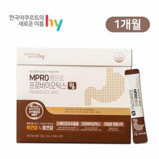 한국야쿠르트 건강기능식품 윌 1개월분, 59000원, CJ오쇼핑