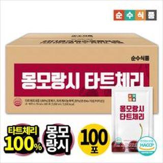 몽모랑시 타트체리 주스 100퍼센트 실속형 100포 , 44900원, NS홈쇼핑