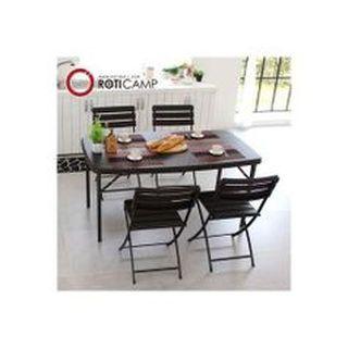 접이식 브로몰딩 테이블 라탄 1500 캠핑 카페 야외 [추가5%쿠폰 증정], 59420원, NS홈쇼핑