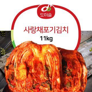 도미솔포기김치11kg, 36810원, 아임쇼핑