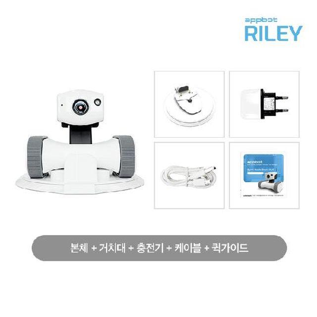 [카드 10%할인,10%적립,일시불 할인]움직이는 로봇 홈캠 앱봇 라일리Appbot Riley