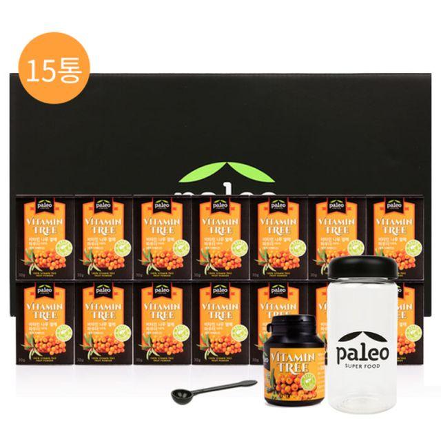 팔레오 비타민나무 15통 세트(30g*15개입)
