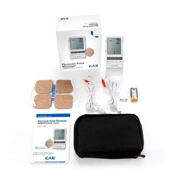 카스 디지털 저주파자극기+체표면전기자극기용전극 1+1세트
