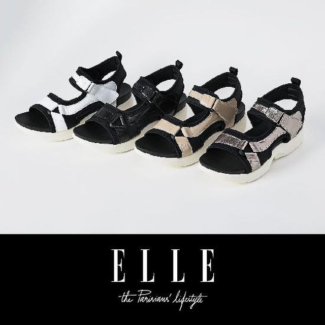 ELLE(엘르) 썸머 워킹 샌들