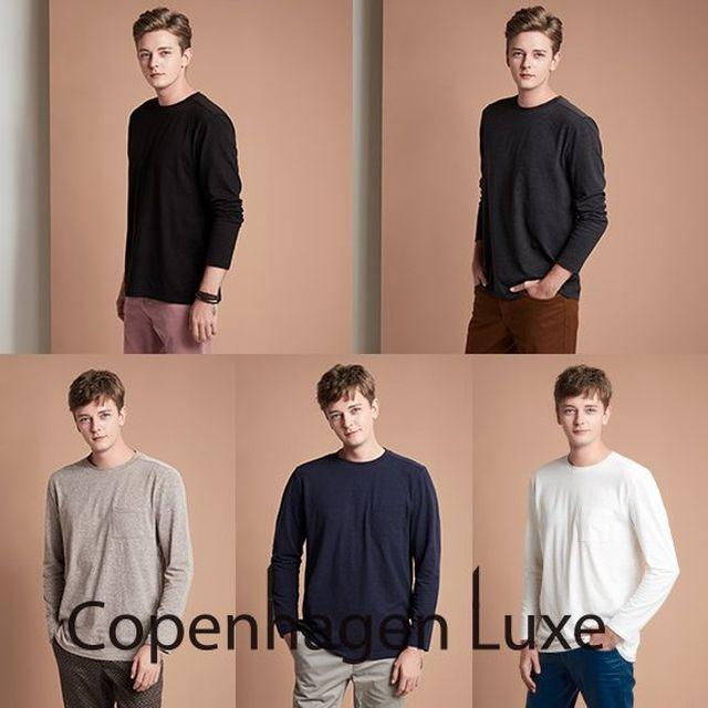 코펜하겐럭스 남성 코튼멜로우 티셔츠 5종